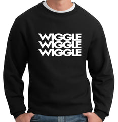 Wiggle Song Lyric Crew Neck Sweatshirt