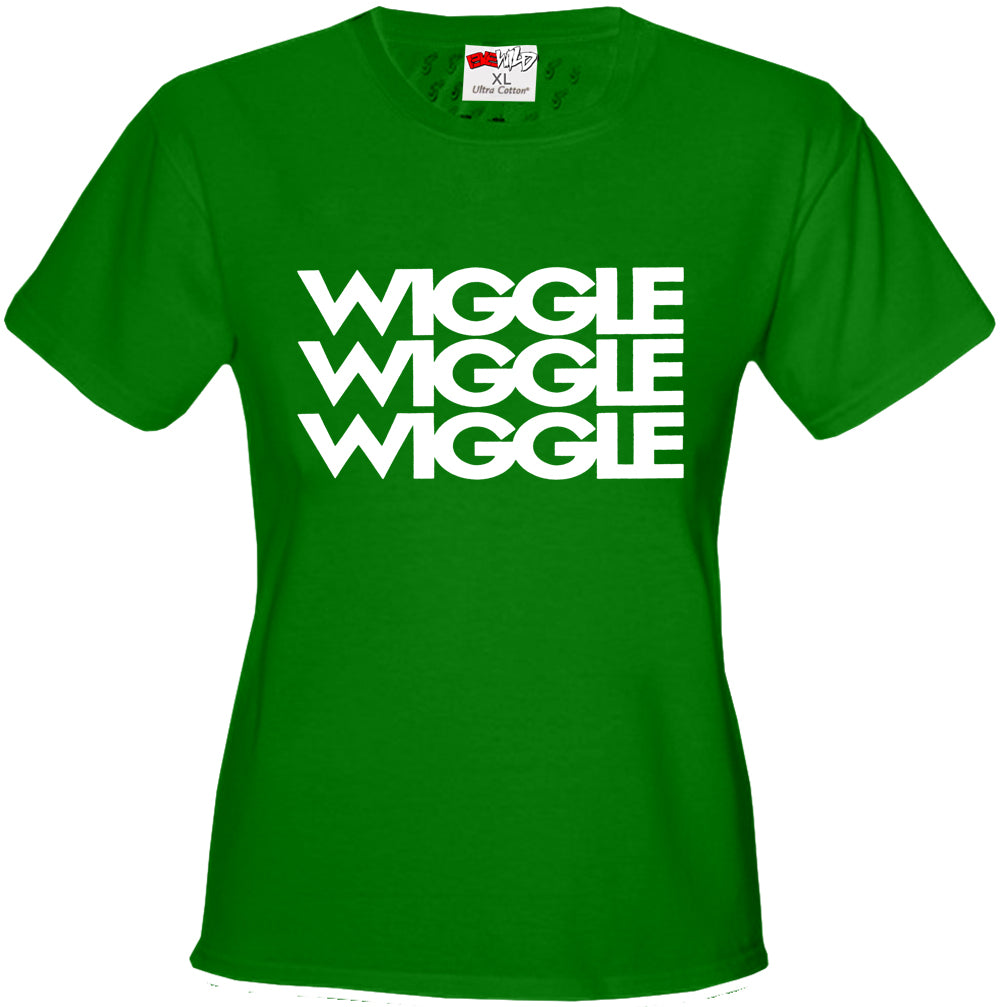 Wiggle Song Lyric Girl's T-Shirt