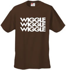 Wiggle Song Lyric Men's T-Shirt