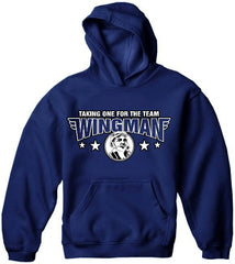 Wingman Taking One For The Team Hoodie