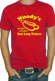 Woody's Foot Long Weiners T-Shirt