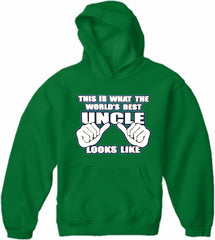 World's Best Uncle Adult Hoodie