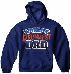 World's Drunkest Dad Men's Hoodie
