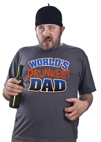 World's Drunkest Dad  Men's T-Shirt