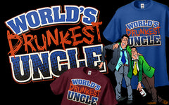 World's Drunkest Uncle Men's Hoodie