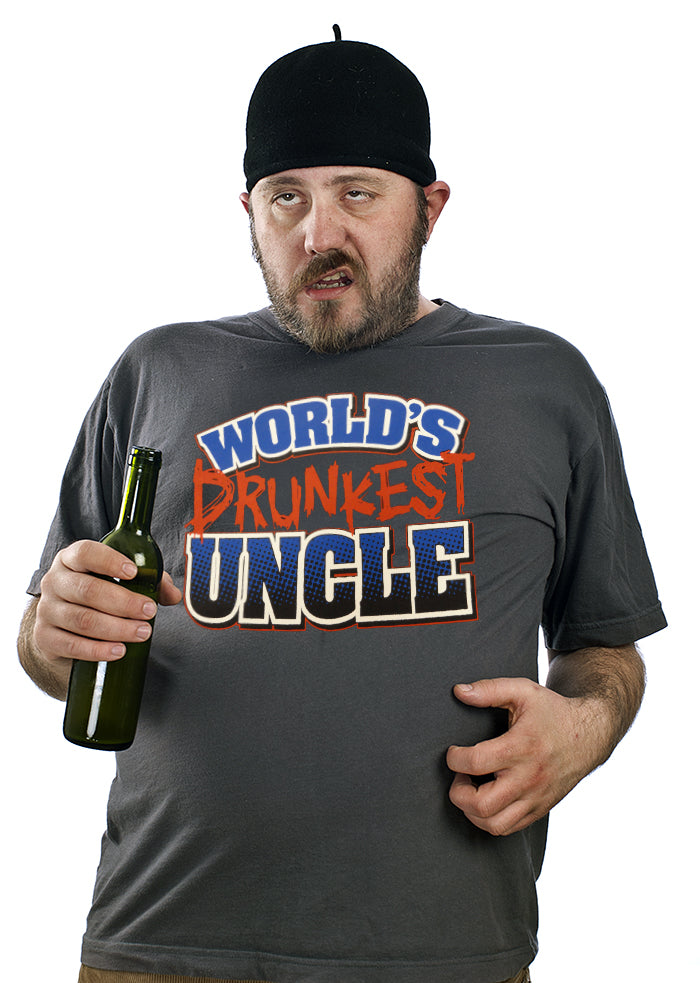 World's Drunkest Uncle Men's T-Shirt