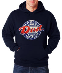 World's Greatest Dad Vintage Adult Hoodie