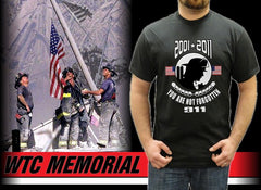 World Trade Center - You Are Not Forgotten 2001-2011 T-Shirt