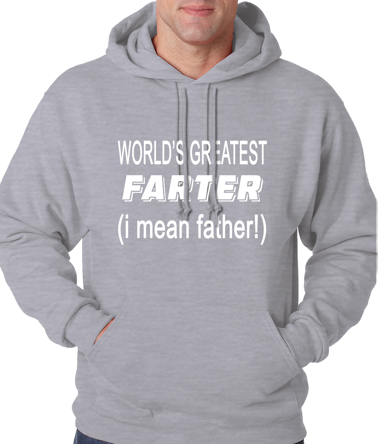 Worlds Greatest Farter Adult Hoodie