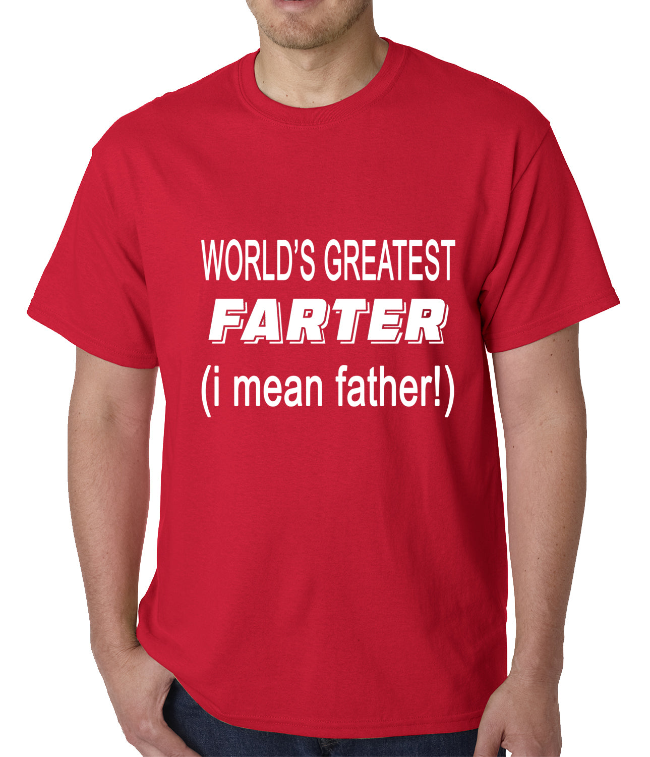 Worlds Greatest Farter Mens T-shirt