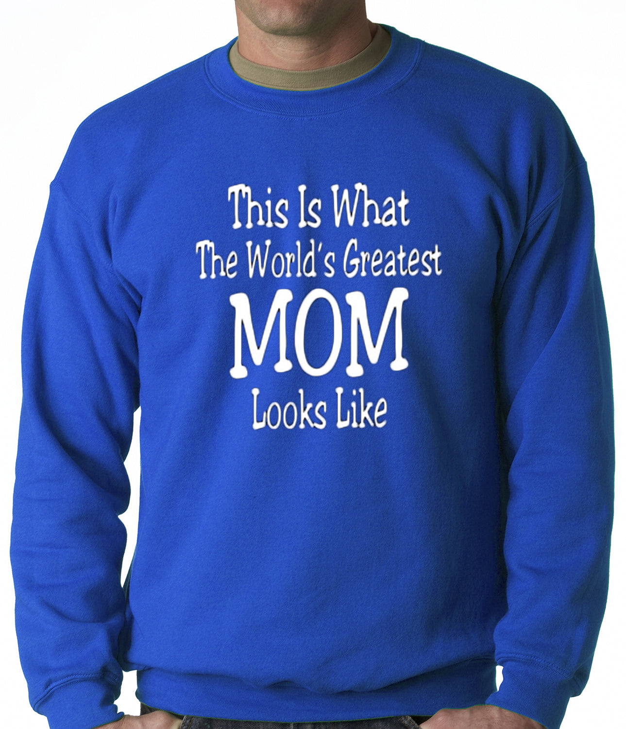 Worlds Greatest Mother Adult Crewneck