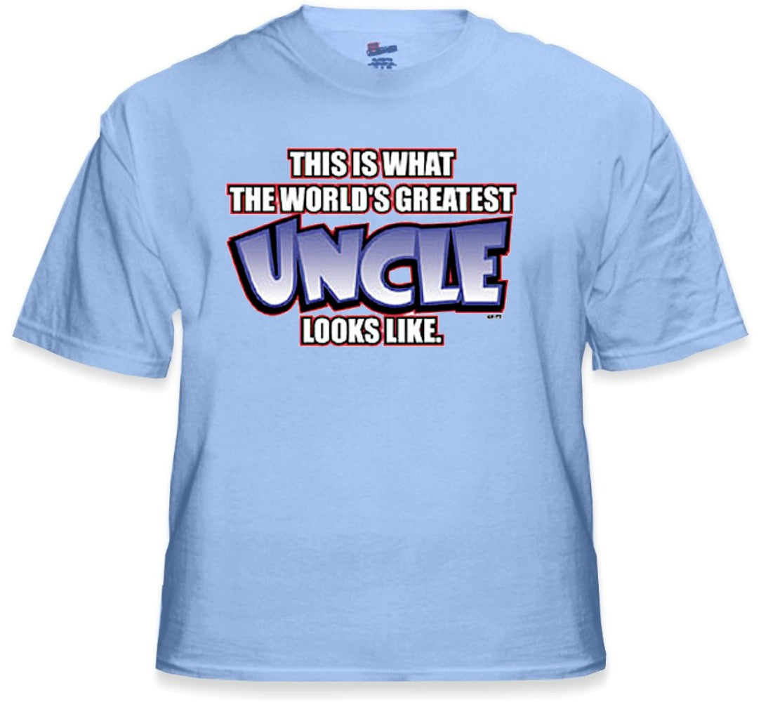 Worlds Greatest Uncle T-Shirt