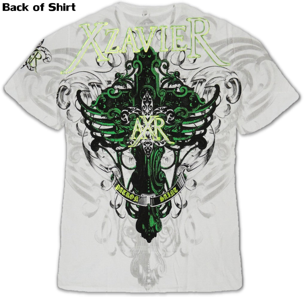 "Xzavier ""Across Waters"" T-Shirt (White)"