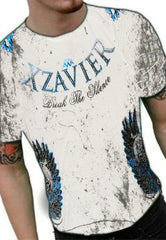 "Xzavier ""Break the Silence"" Couture T-Shirt (White)"