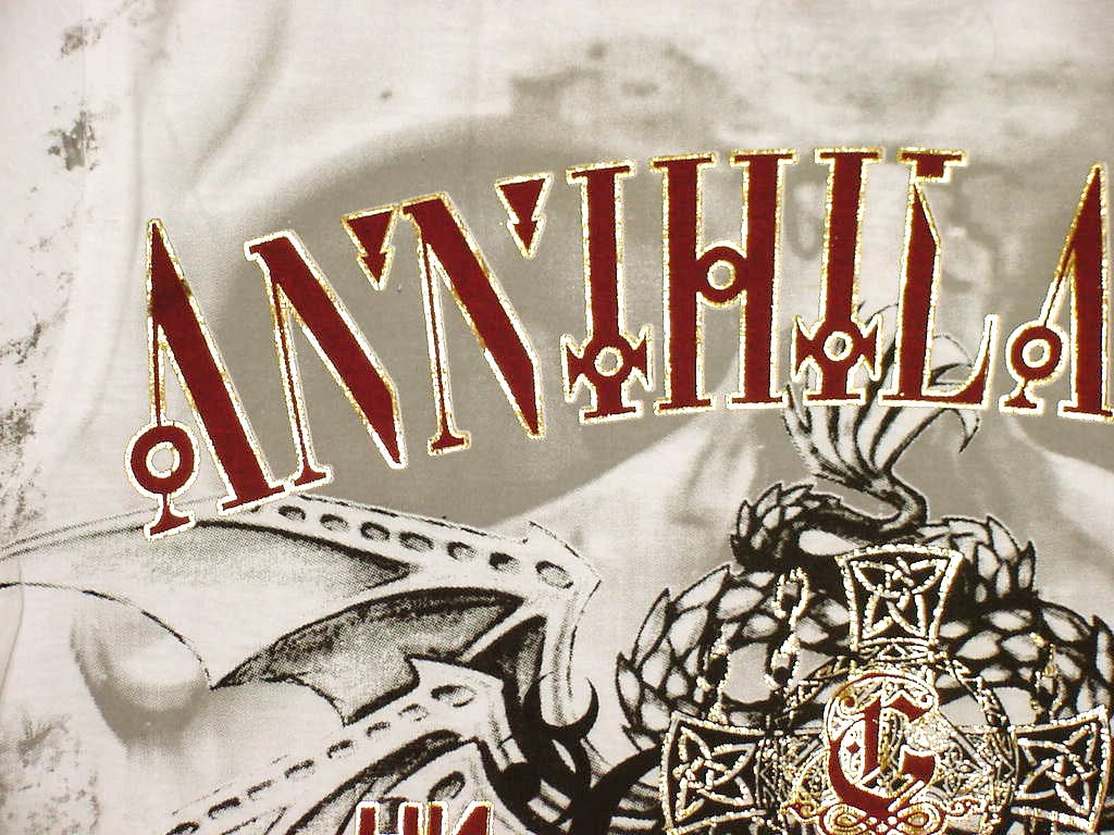 "Xzavier Da Grind ""Annihilation"" Anthrax Serpent T-Shirt"