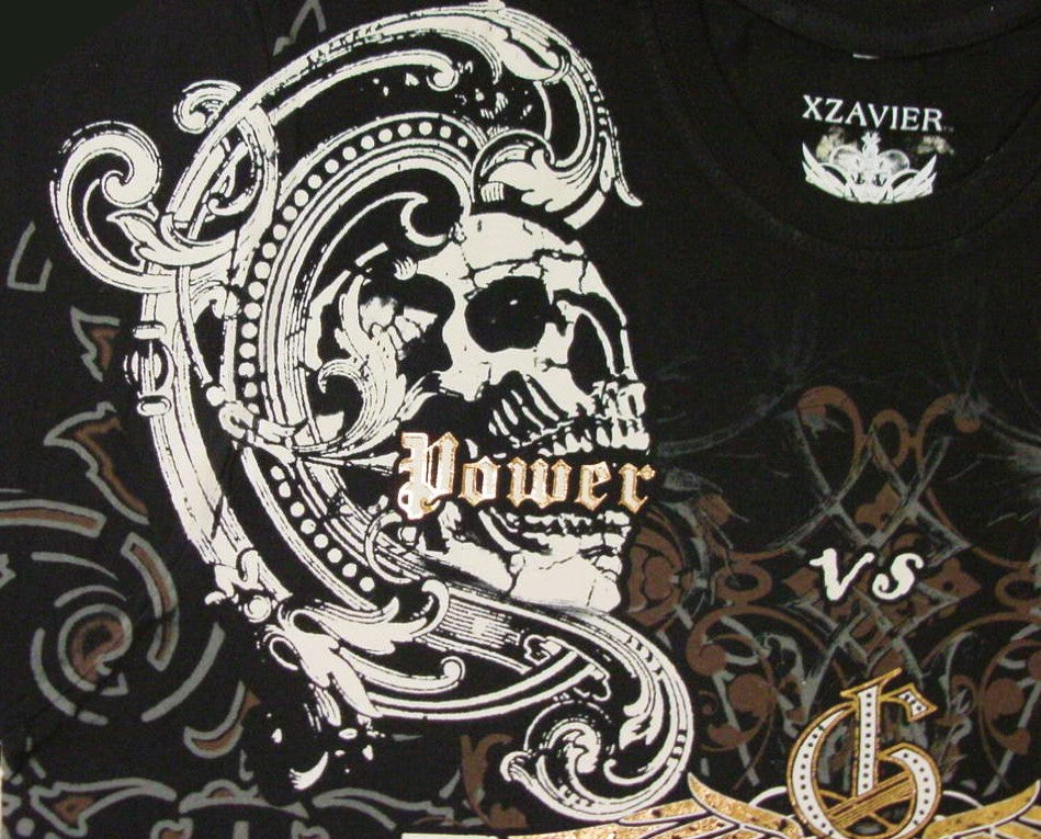Xzavier Da Grind Power vs. Force T-Shirt