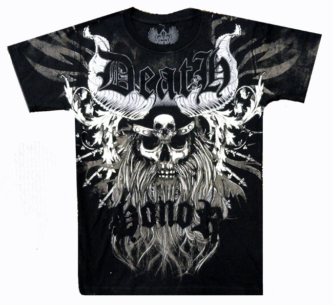 Xzavier Death  Men's T-Shirt (Black)