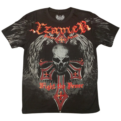 Xzavier Fight the Power Mens T-shirt