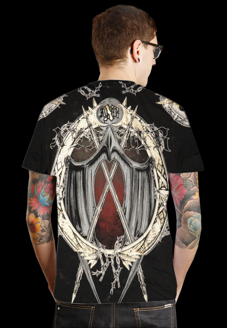 "Xzavier ""Iron Protector"" Couture T-Shirt (Black)"