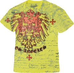 "Xzavier ""Live & Love"" T-Shirt (Yellow)"