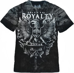 "Xzavier ""Rock & Roll Royalty"" T-Shirt (Black)"