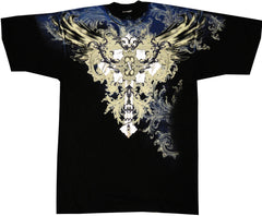 "Xzavier ""Winged Celtic"" T-Shirt (Black)"