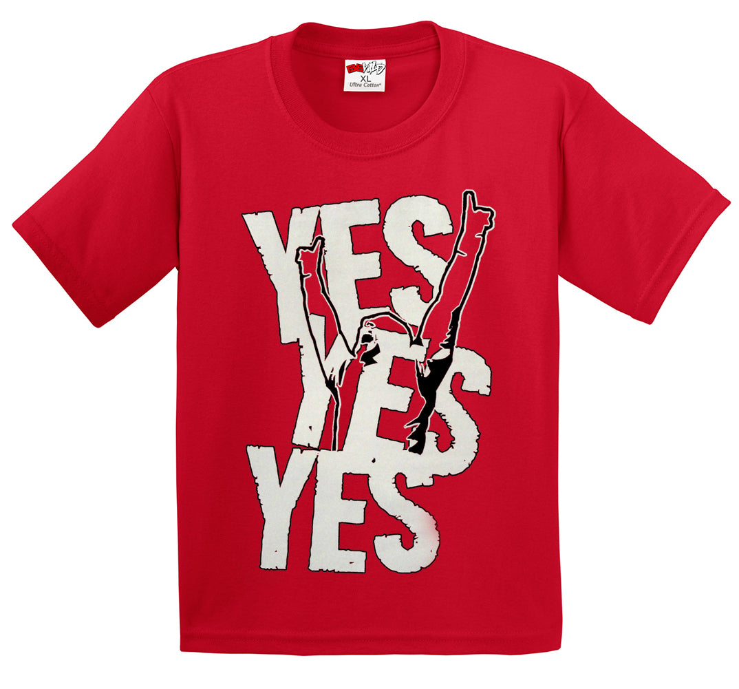 Yes Yes Yes  Kid's T-Shirt