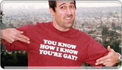 You Know How I Know You're Gay T-Shirt