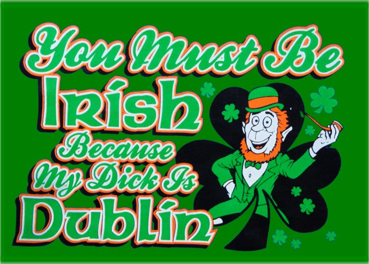 You Must Be Irish Because My Dick Is Dublin Hoodie