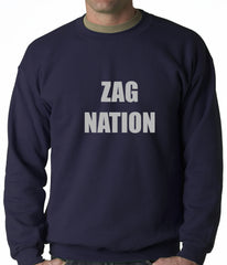 Zag Nation Adult Crewneck