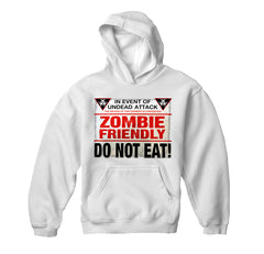 Zombie Friendly Adult Hoodie