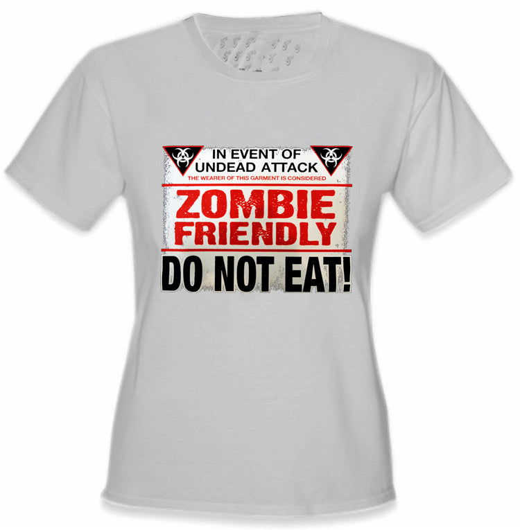 Zombie Friendly Women's T-Shirt