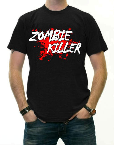 "Zombie Killer ""Blood Splatter"" T-Shirt"