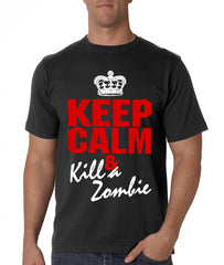 Zombie Tees - Keep Calm And Kill A Zombie Men's T-Shirt