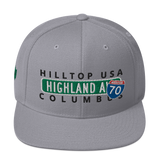 Concrete Streets Highland Ave CO Snapback Hat