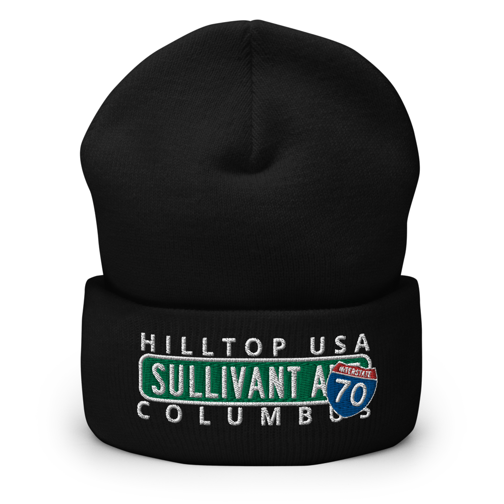 City Nights Sullivant Ave CO Cuffed Beanie