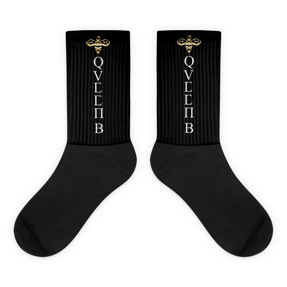 Queen Bee Blackfoot Socks