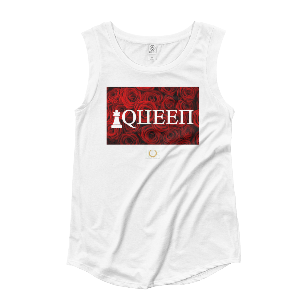 Queen Rose Cap Sleeve T-Shirt