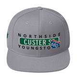 Concrete Streets Custer Ave Snapback Hat