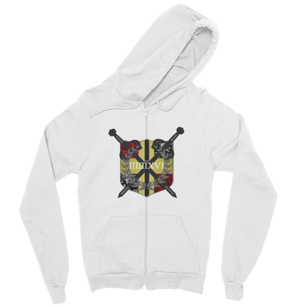 Coat of Arms Zip hoodie