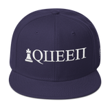 Queen Statement Snapback Hat