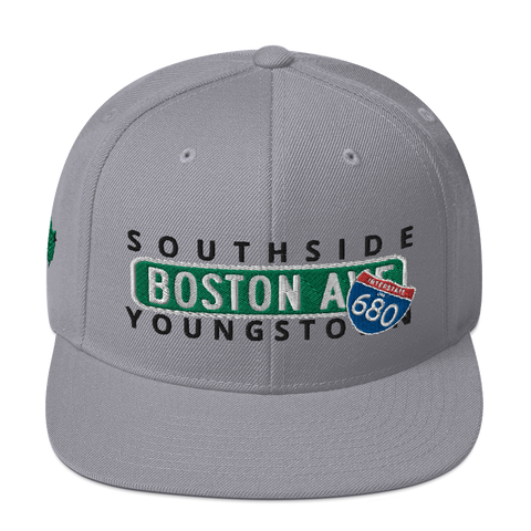 Concrete Streets Boston Ave Snapback Hat