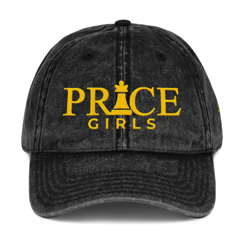 Price Girls Vintage Cap (Custom Request)