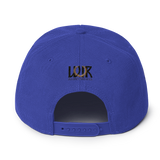 Queen 1 Color Snapback Hat