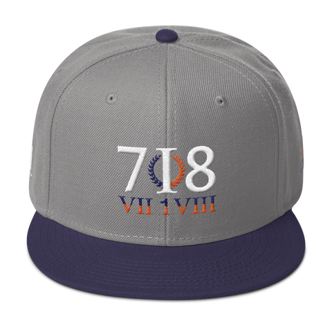 718 Stateside MX Snapback Hat