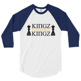 Recognize King 3/4 Sleeve Shirt