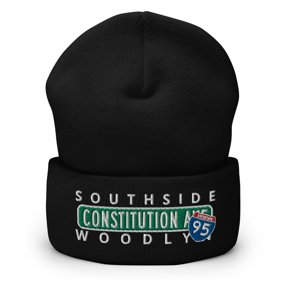 City Nights Constitution Ave PA Cuffed Beanie