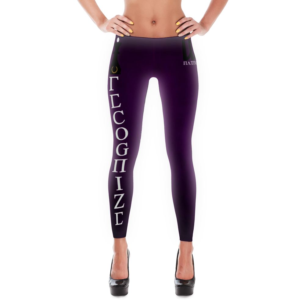 Recognize Queen Purple Reign Leggings