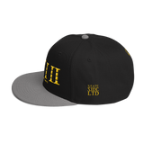 412 BlackAndYellow Stateside LTD Snapback Hat