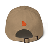 Peach State of Mind Ivory Adjustable Hat